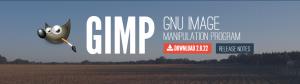 画像加工、編集ソフトのGIMP(ギンプ)のダウンロードとインストール方法